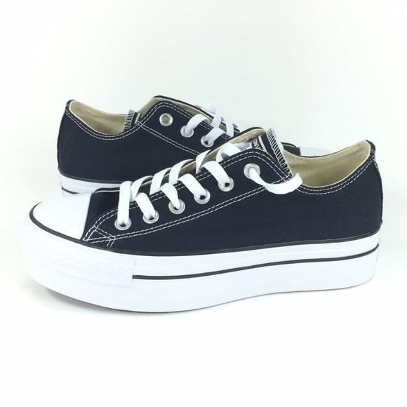 NEW Converse Platform Oz Shoes Black White 7 8 19ebb5f9150